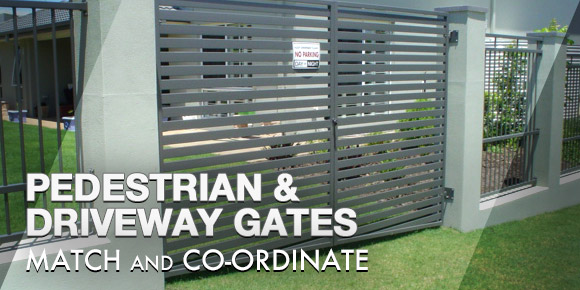 Pedestrian and Driveway Gates