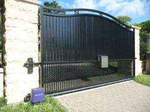 How Electric Driveway Gates Make Your Home More Secure