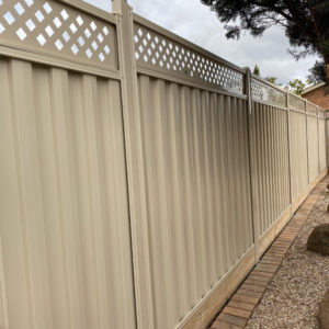 Fence Extension Colorbond