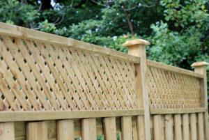 Fence Extension Lattice