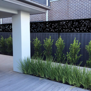 Fence Extension Modern